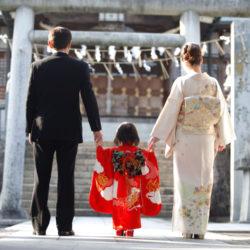 子供のお宮参り 七五三と父母も一緒に神前挙式を!