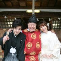 今だからこそ宮司と3人でも結婚式を挙げませんか?